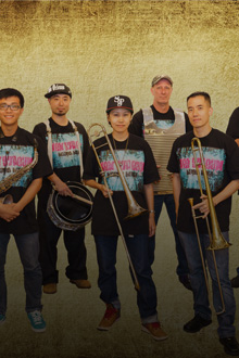 New Stream Brass Band Part of Timbre Music